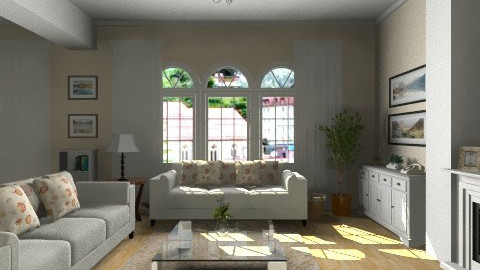 England home2 - Country - Living room  - by GALE88