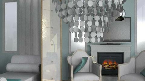 Elegant bedroom - Glamour - Bedroom - by ana_schroeder
