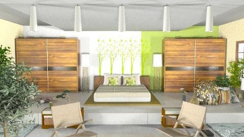 Zen - Eclectic - Bedroom  - by sonya_b