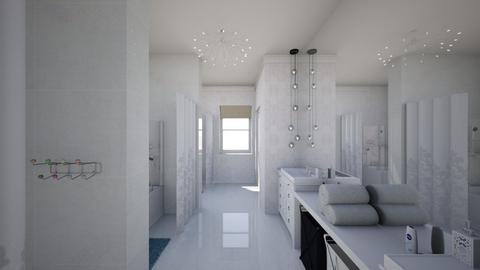 Modern country house6 - Bathroom  - by AleksandraZaworska98