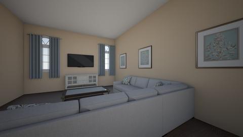 living room 1 intirior de - Living room  - by kyshaiz