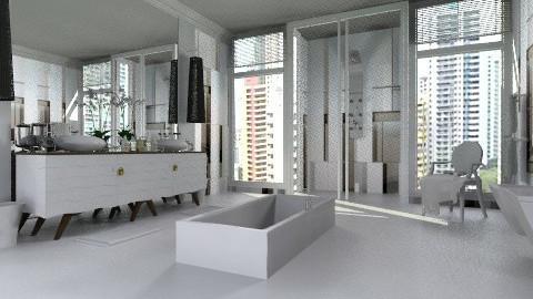 Fresh - Modern - Bathroom  - by AlSudairy S