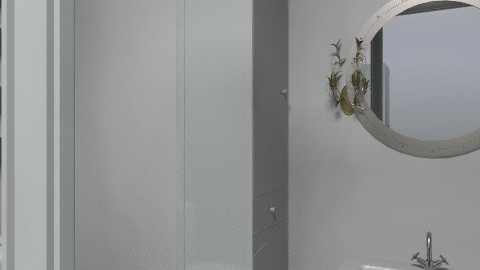 Basement Bathroom 3 - Glamour - Bathroom  - by smdittrich