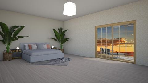 Simple Bedroom - Modern - Bedroom  - by Pheebs09
