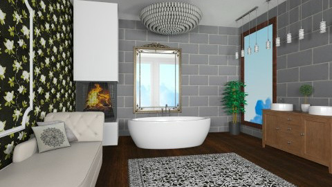 Art Deco bathroom  - Classic - Bathroom - by bethany81