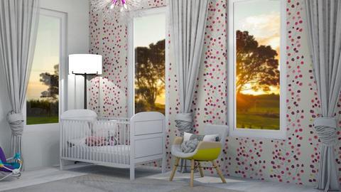 Baby girl bedroom - Bedroom  - by Anya F