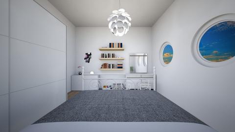 Round  - Modern - Bedroom  - by Twerka