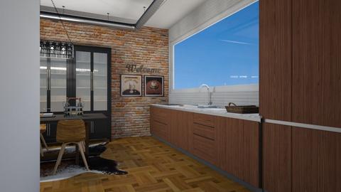 industrial kitchen - Kitchen - by rebsrebsmmg