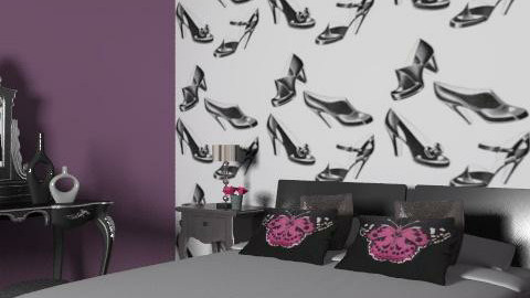 Boutique Bedroom - Glamour - Bedroom - by lottie21