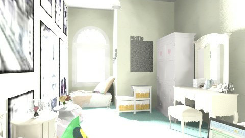 Simple Bedroom - Feminine - Bedroom - by Fitri Wirasatya