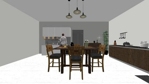 kitchen 1 - Kitchen - by Rahmah_hr