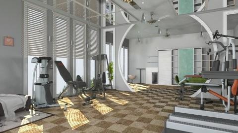champion gym - Modern - by Veny Mully