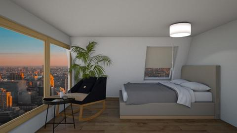 New York Bedroom - Modern - Bedroom  - by natalieeyauu
