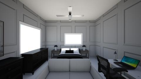 Final Design - Modern - Bedroom  - by RyderSzepesi