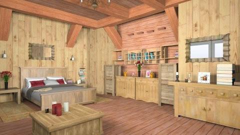 lr161011 - Rustic - Living room  - by Elena Green
