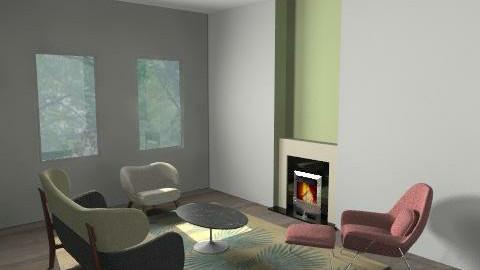 pressick_lr_ - Retro - Living room  - by sangsangko