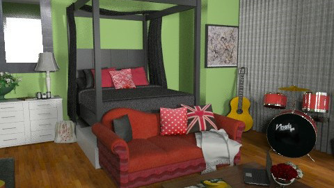 Muse - Modern - Bedroom  - by kishwick
