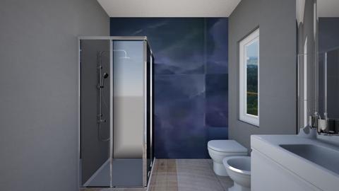 Esempio bagno finestrato - Bathroom  - by natanibelung