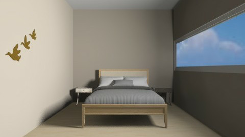 Small Guest bedroom - Modern - Bedroom - by GEORGIA288