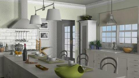 Beach House - Kitchen 3 - Kitchen  - by LizyD