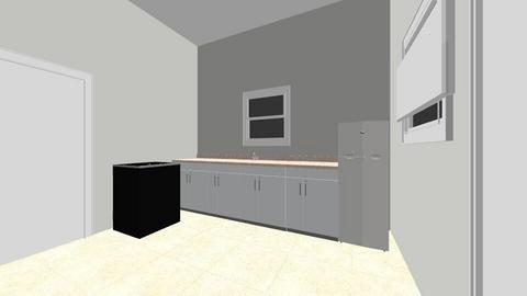 Original Kitchen Layout - Vintage - Kitchen  - by Northernandnoted
