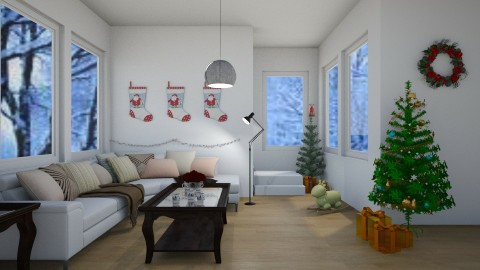 Winter Wonderland - Minimal - Living room  - by millerfam