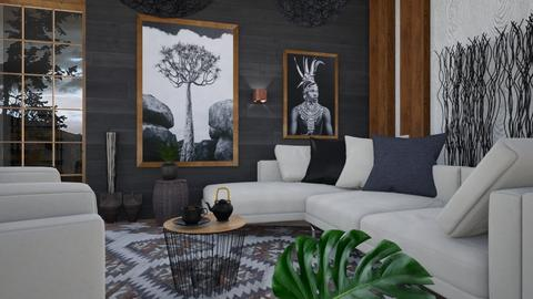 M_ Wild countryside - Living room  - by milyca8