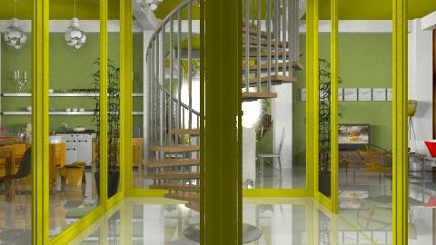Central stairwell c - Eclectic - by mrschicken