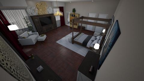 Alt Mstr Bdrm - Modern - Bedroom  - by alonatech_2nd
