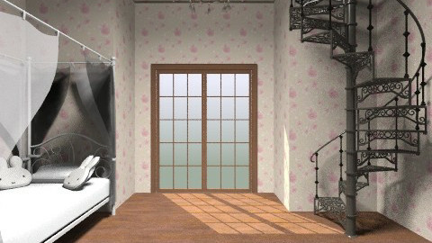 Cute bedroom - Vintage - Bedroom  - by Agny Innocente