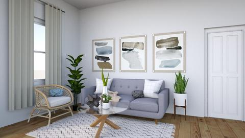 Winter Grey - Living room  - by Jane Rawle