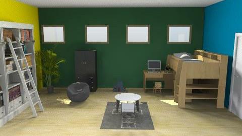 kid room - Modern - Bedroom - by wajiyh78