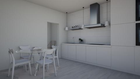 1 - Kitchen - by katiebw