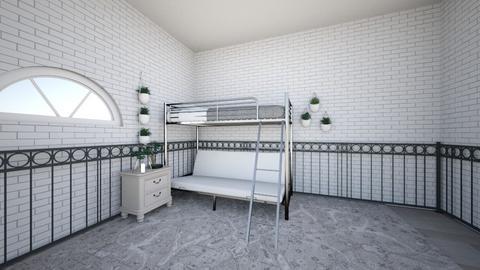 Futon - Bedroom  - by Lauren1107