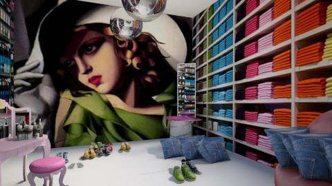 Teen Dream Dressing Room - by DesignDezizzle