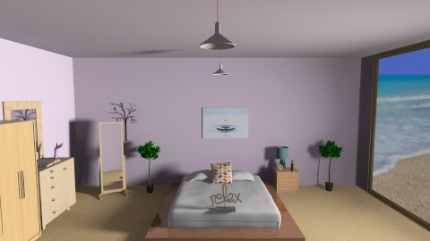 Paradise - Minimal - Bedroom  - by seasideview