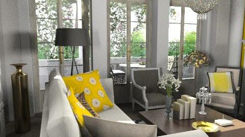 yel - Classic - Living room  - by naki1