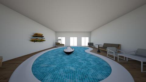 piscina interior - Garden  - by Marthinharoom5
