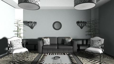 stripe hype - Living room - by Linda Eubanks
