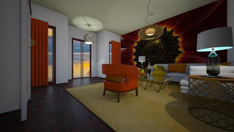 sunflower - Modern - Living room - by decordiva1