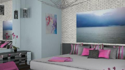 Urban Bedroom - Modern - Bedroom  - by Theadora
