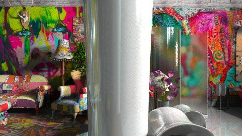 Funky bath - Eclectic - Bathroom  - by Your well wisher