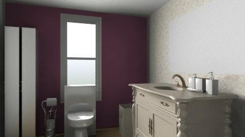 bathroom1 - Retro - Bathroom  - by Angela P Bouldres Rodrguez