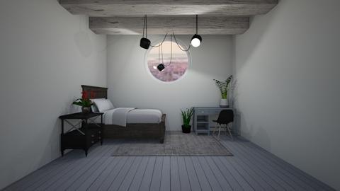 Loft room - Bedroom - by EvelynErick