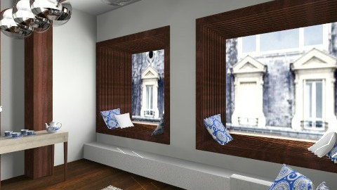 test - Rustic - Living room  - by macus