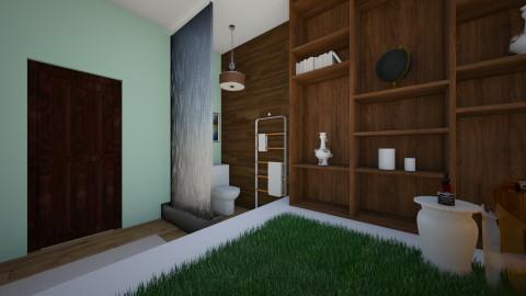 Greenroom - Bathroom - by Allachka