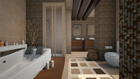 bathroom  - Modern - Bathroom  - by Senia N