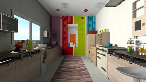 Galley - Eclectic - Kitchen  - by mrschicken