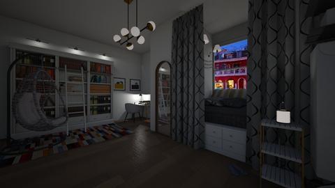 night room - Office - by niok
