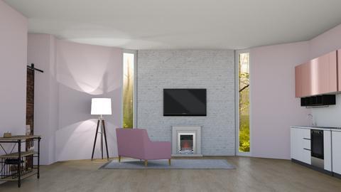 Apartment contest remix - Modern - Kitchen  - by 29catsRcool